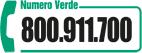 numero verde: 800911700