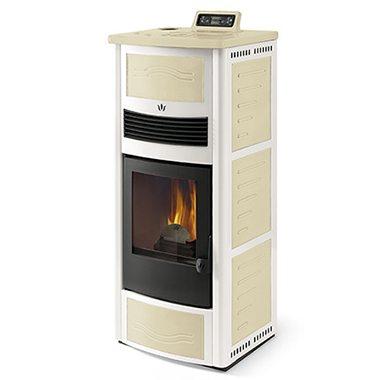 Stufe a pellet stufe a legna caldaie per appartamenti da 100 a 150 mq cuore del calore - Stufe a pellet 100 mq ...