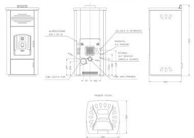 schema-stufa-policombustibile-laminox-carlotta-omnia-23kw